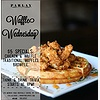 Waffle Wednesdays at Parl