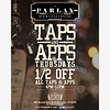 1/2 Price Taps & Apps at