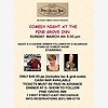 Comedy Night at the Pine